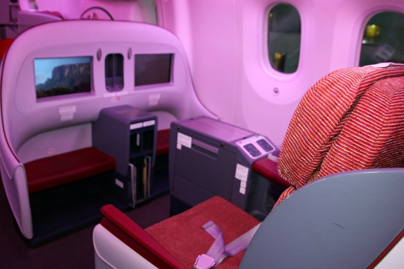 Dreamliner Business Class LAN