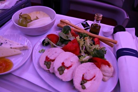 Essen bei LAN Airlines