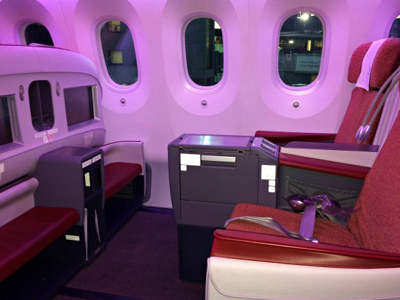 LAN Dreamliner Business Class
