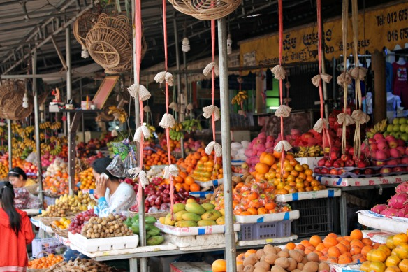 Phnom Penh Markt Kambodscha