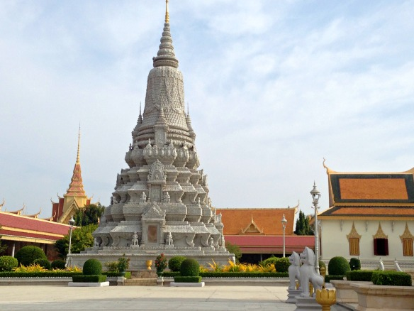 Phnom Penh Palast 2 Kambodscha