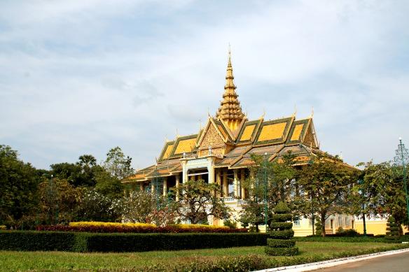 Phnom Penh Palast Kambodscha