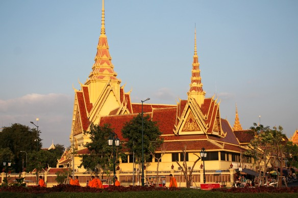 Phnom Penh Platz Kambodscha