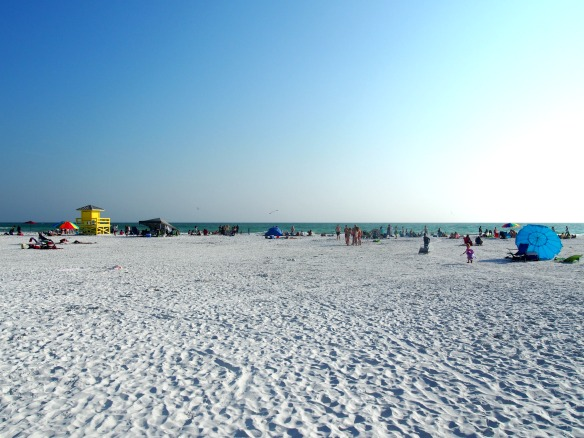 Siesta Beach in Florida