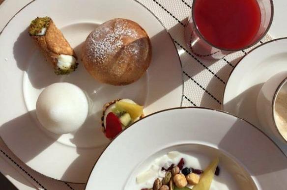 Frühstück auf Sizilien