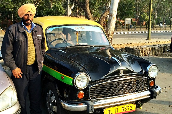 Indien - Taxifahrer