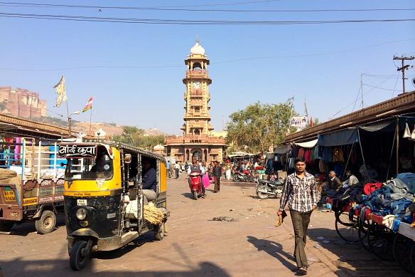 Marktplatz in Indien