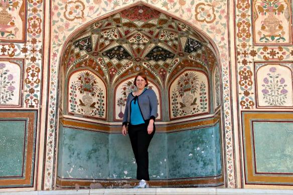 Reiseblogger Anja Beckmann in Indien