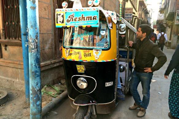 Straße in Indien