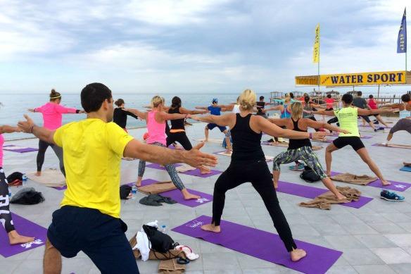 Beach Yoga 2