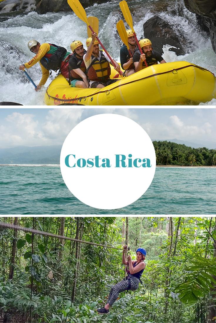 Costa Rica: Abenteuer mit Rafting, Canopy Tour & Surfen
