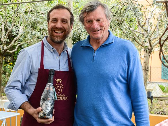 Weingutsbesitzer Piero Lugano