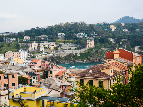 Ausblick vom Grand Hotel Dei Castelli