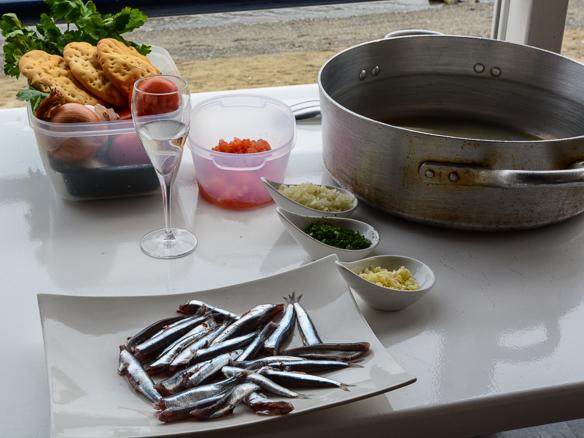 Essen in Ligurien