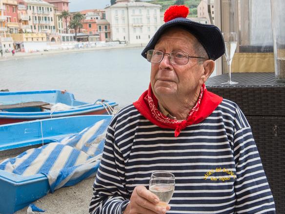 Fischerkleidung in Ligurien