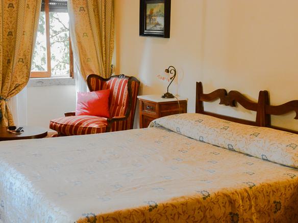 Zimmer des Grand Hotel Dei Castelli