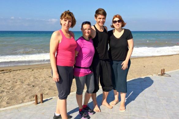 Fitness Week in der Türkei