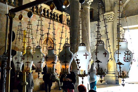 Lampen in Jerusalem