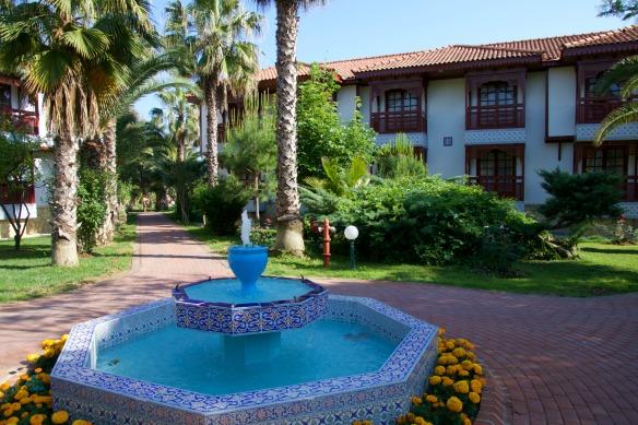 Springbrunnen im Ali Bey Resort