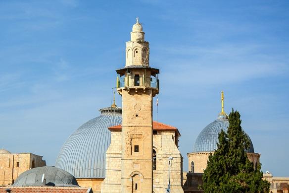 Stadtansicht Jerusalem