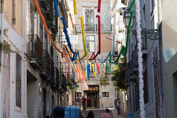 Start in Lissabon