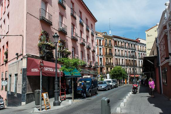 Angekommen in Madrid