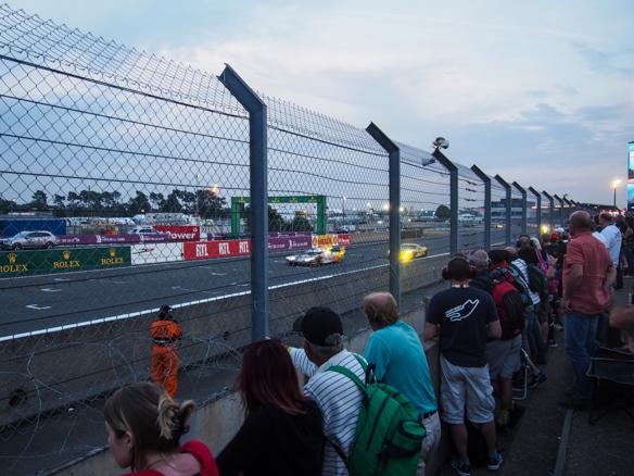 Zuschauer in Le Mans