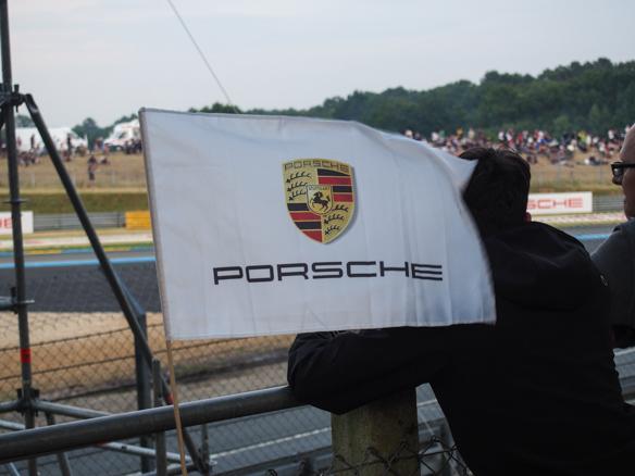 Mit Porsche in Le Mans