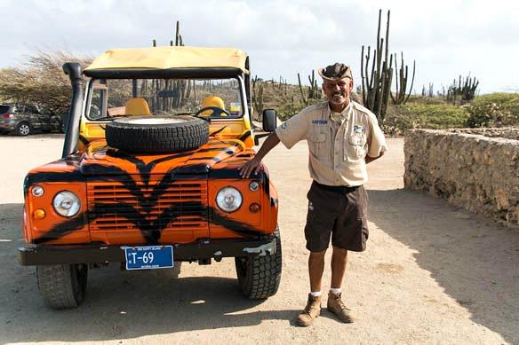 Jeeptour auf der Insel Aruba
