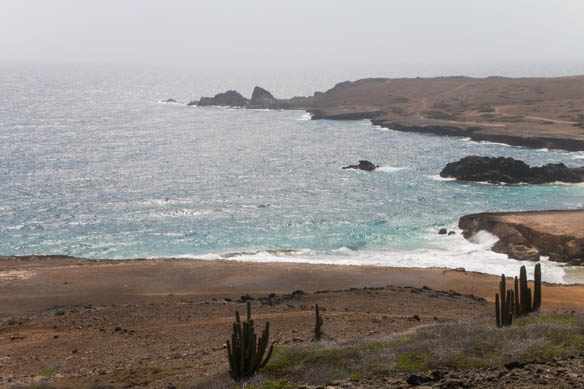 Landschaft auf Aruba