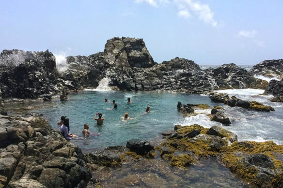 Conchi Natural Pool auf Aruba
