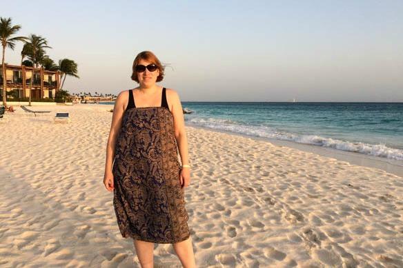 Reiseblogger Anja Beckmann auf Aruba