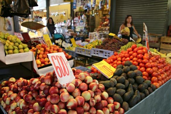 Santiago de Chile - Markt