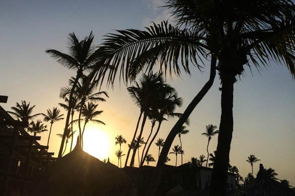 Sonnenaufgang auf Aruba