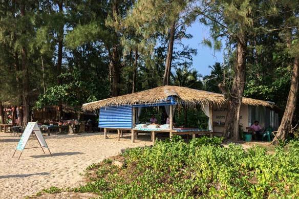 Thai Massage am Strand
