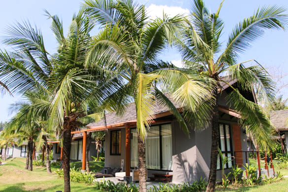 Bungalow im Twin Lotus Resort