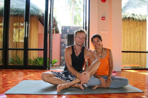 Yogalehrer auf Koh Lanta