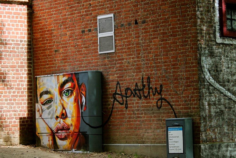 Streetart Leuven