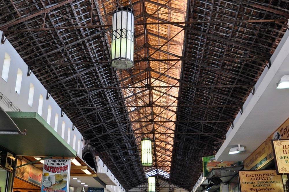 2 Chania Markthalle Dachstuhl