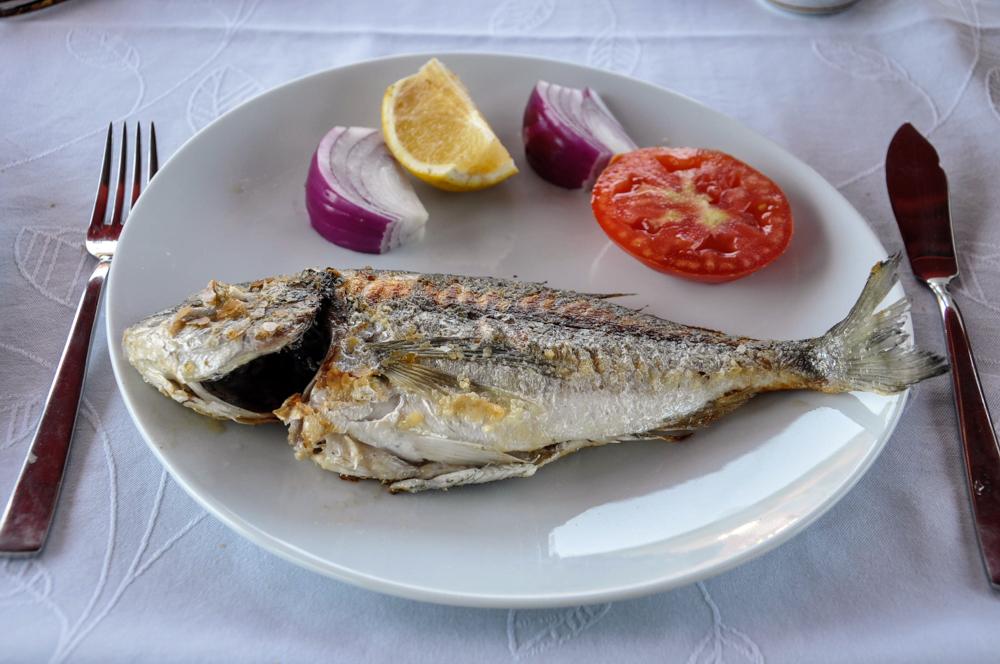 6 fangfrischer Fisch Bootstour Bodrum
