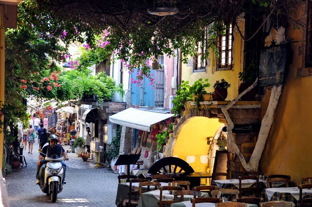 9 Chania Gasse Altstadt jüdisches Viertel Evraiki