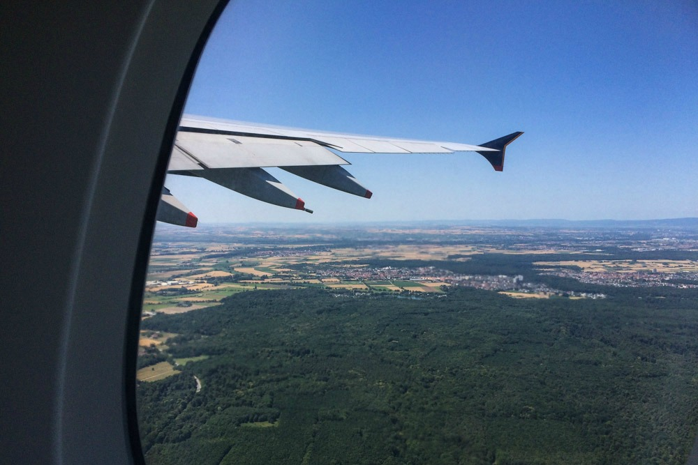 Flug Frankfurt - Singapur mit A380