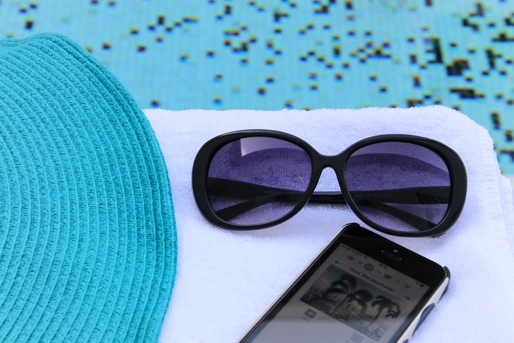 Reiseblog am Pool lesen