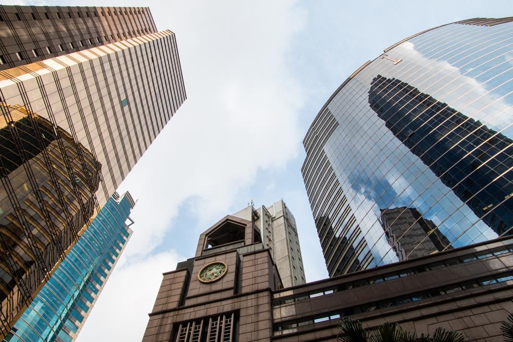 Hochhäuser in Hong Kong