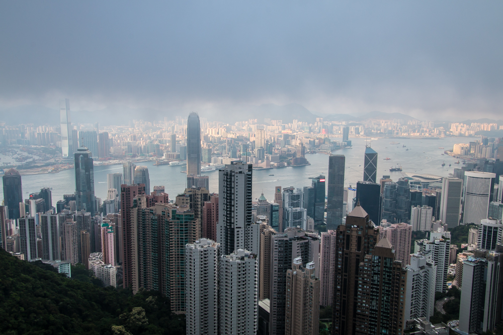 Hong Kong von The Peak