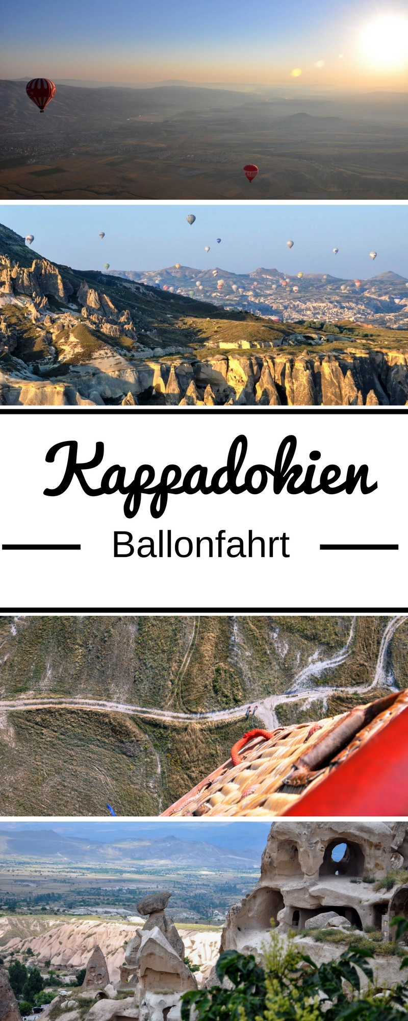 Feenkamine, Höhlenkirchen, unterirdische Städte und fantastische Mondlandschaften. In Kappadokien (Türkei) komme ich mir vor wie in einem Märchen. Erst recht, als ich auf einer Ballonfahrt die zauberhafte Landschaft aus der Luft zu sehen bekomme und das Gefühl habe zu träumen. Mehr Infos und Fotos findet ihr im Reiseblog.