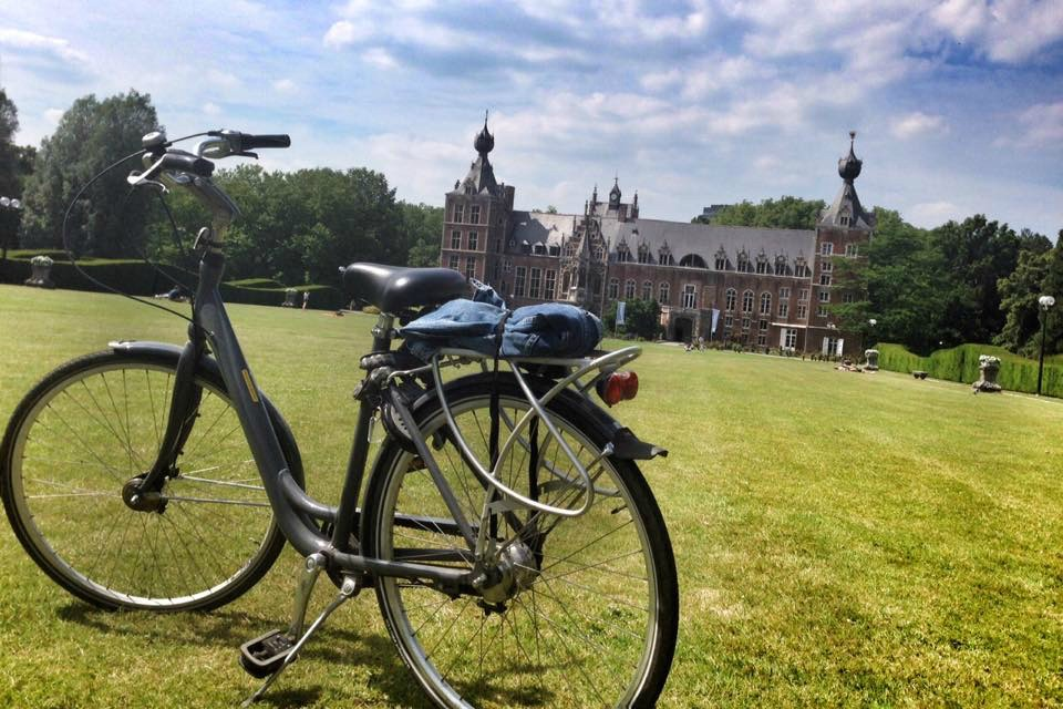 Mit dem Fahrrad durch Leuven