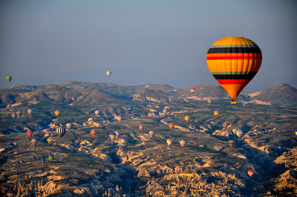 Türkei Kappadokien Ballonfahrt