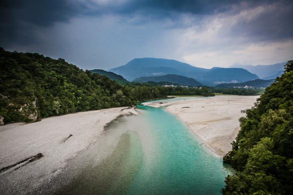 Tagliamento Fluss