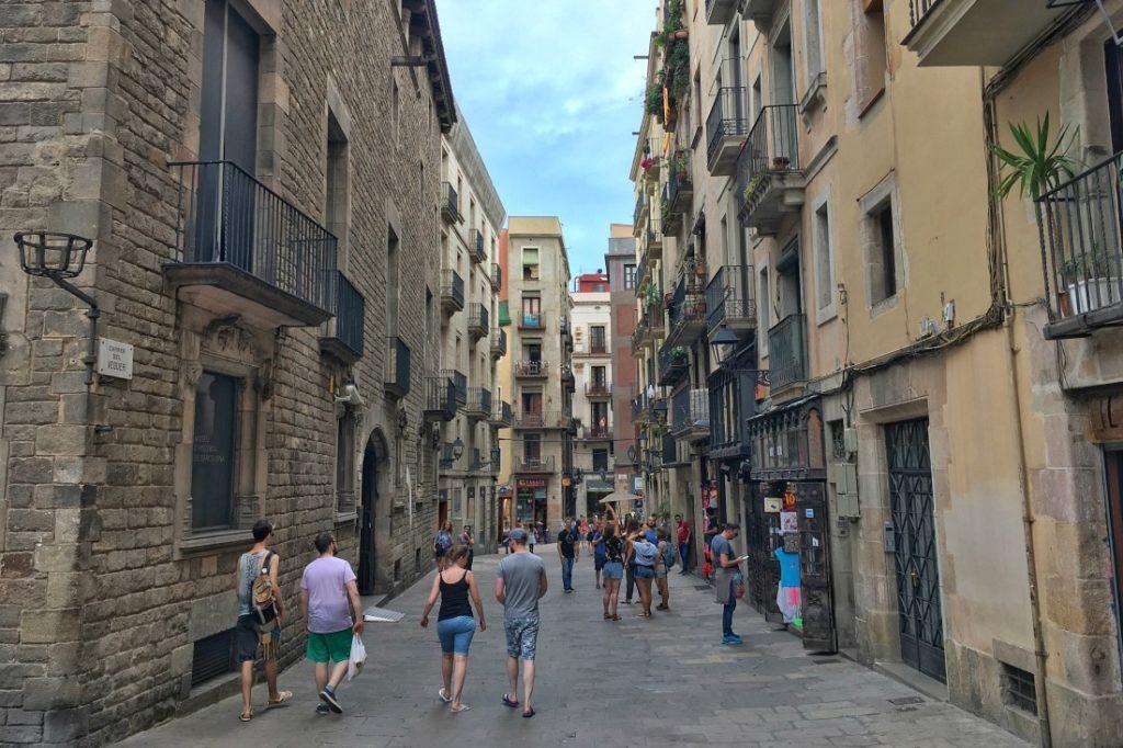 Altstadt von Barcelona
